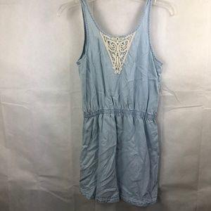 H&M &denim Youth Size 12/13 Denim Dress Light